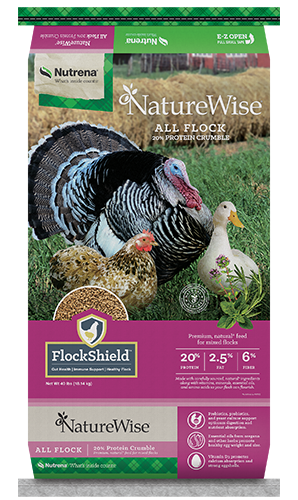 NatureWise All Flock Feed Crumble