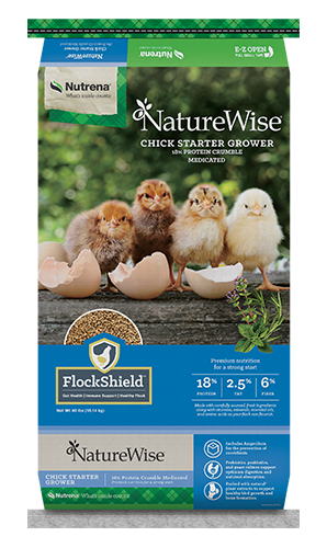 NatureWise Chick Starter Grower Feed Medicated