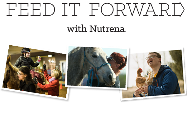 Feed It Forward with Nutrena