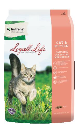 Loyall Life Cat and Kitten Salmon Food